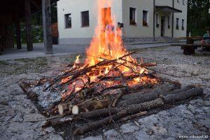 Taborni ogenj.